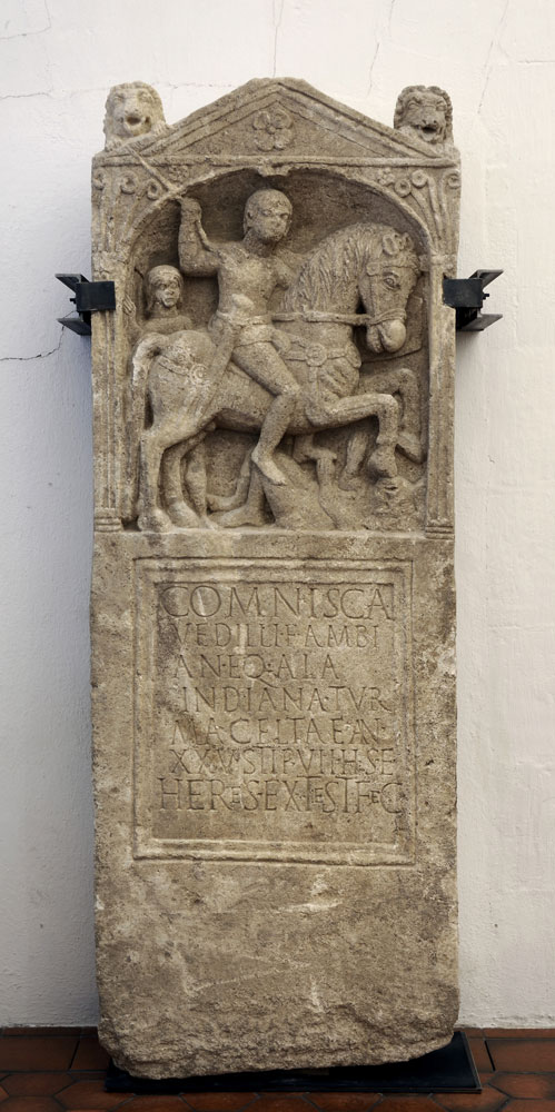 koenigshoffen stele cavalier comisca mb a 2
